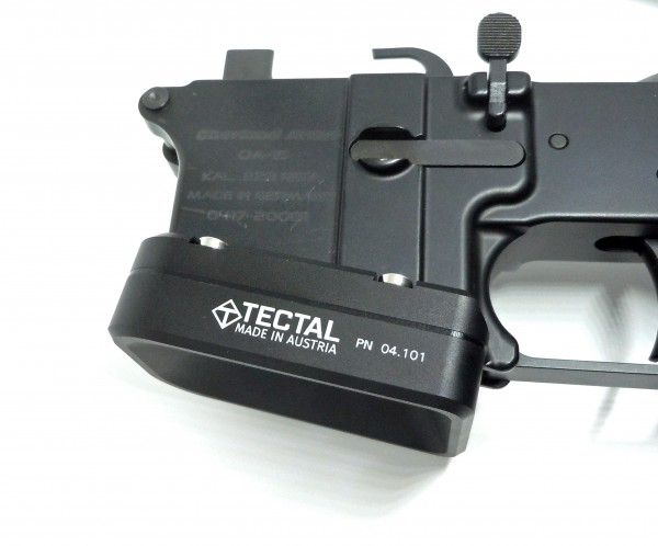 Extended Magwell -- AR-15 9x19 Conversions, .223 Rem Lower and Colt Magazine