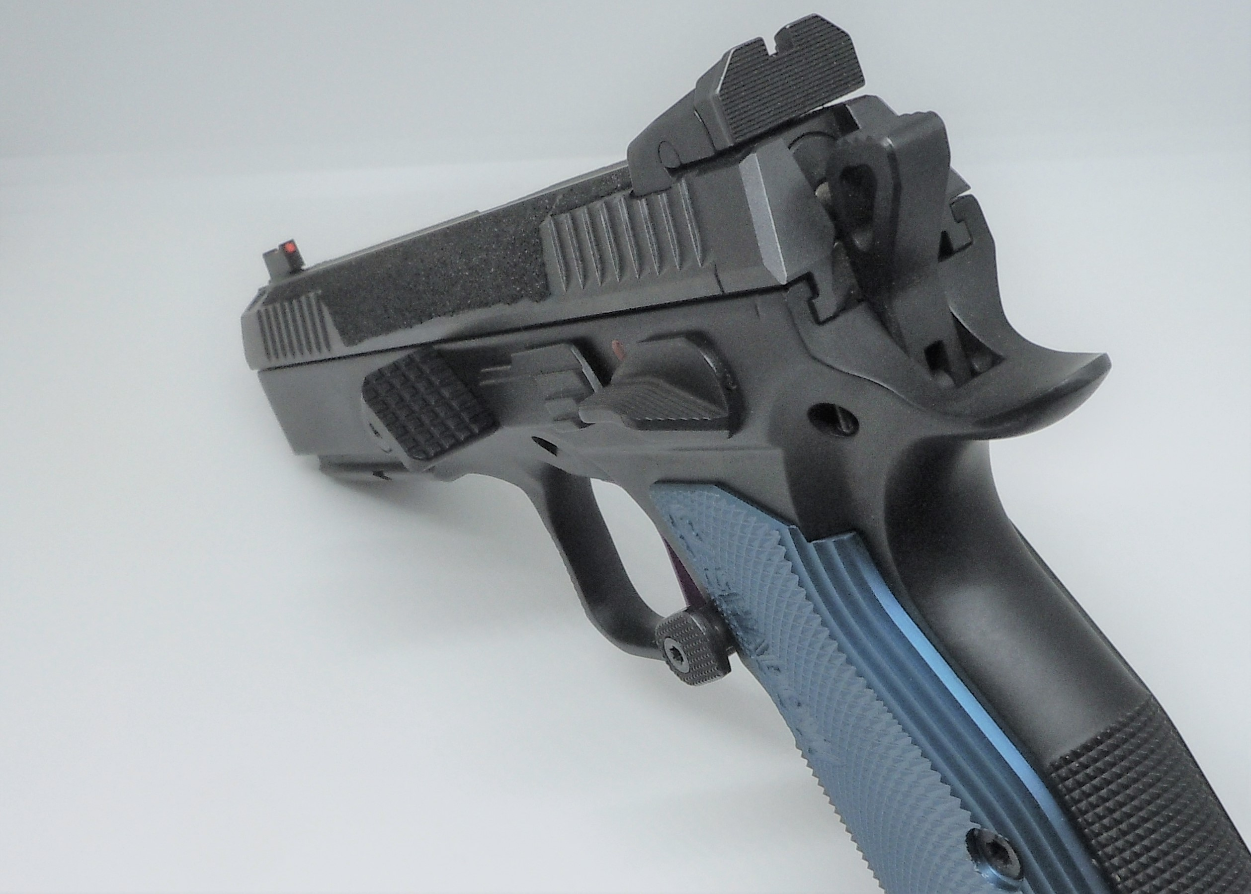 Thumb Rest -- CZ Small Frame (CZ75, Shadow, Shadow 2, etc ) for IPSC  Standard Division